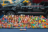 Russian Nesting Dolls, 5th Avenue, New York City, 2009