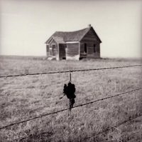 Abandoned House West of Limon, Colorado, 1993